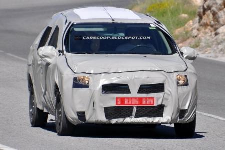 La segunda generación del Dacia Logan asoma la parrilla