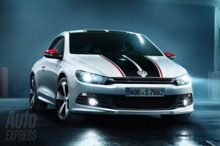 Volkswagen presentó el Scirocco GTS en Leipzig