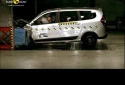 Resultados EuroNCAP, el Dacia Lodgy apenas alcanza las tres estrellas