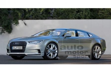 El Audi A9 podría llegar en 2016