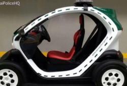 El Renault Twizy se une a la lujosa flota de la policía de Dubái