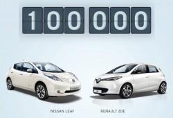 100.000 vehículos eléctricos fabricados por Renault-Nissan