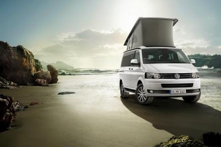 Volkswagen te presta un California durante un fin de semana