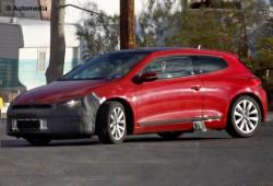 Volkswagen Scirocco facelift  se pasea por el desierto de Arizona