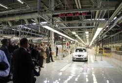 La producción de Saab en Trolhättan se reanuda con un Saab 9-3