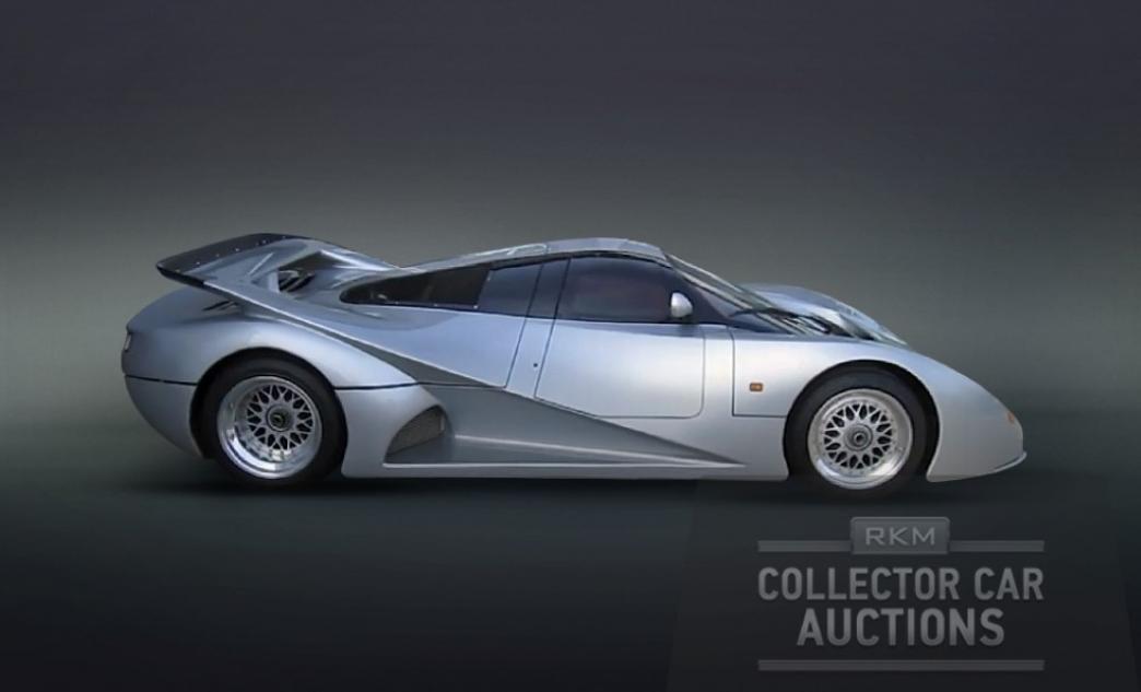 A subasta el Lotec Mercedes-Benz C1000, un superdeportivo más rápido que un Veyron