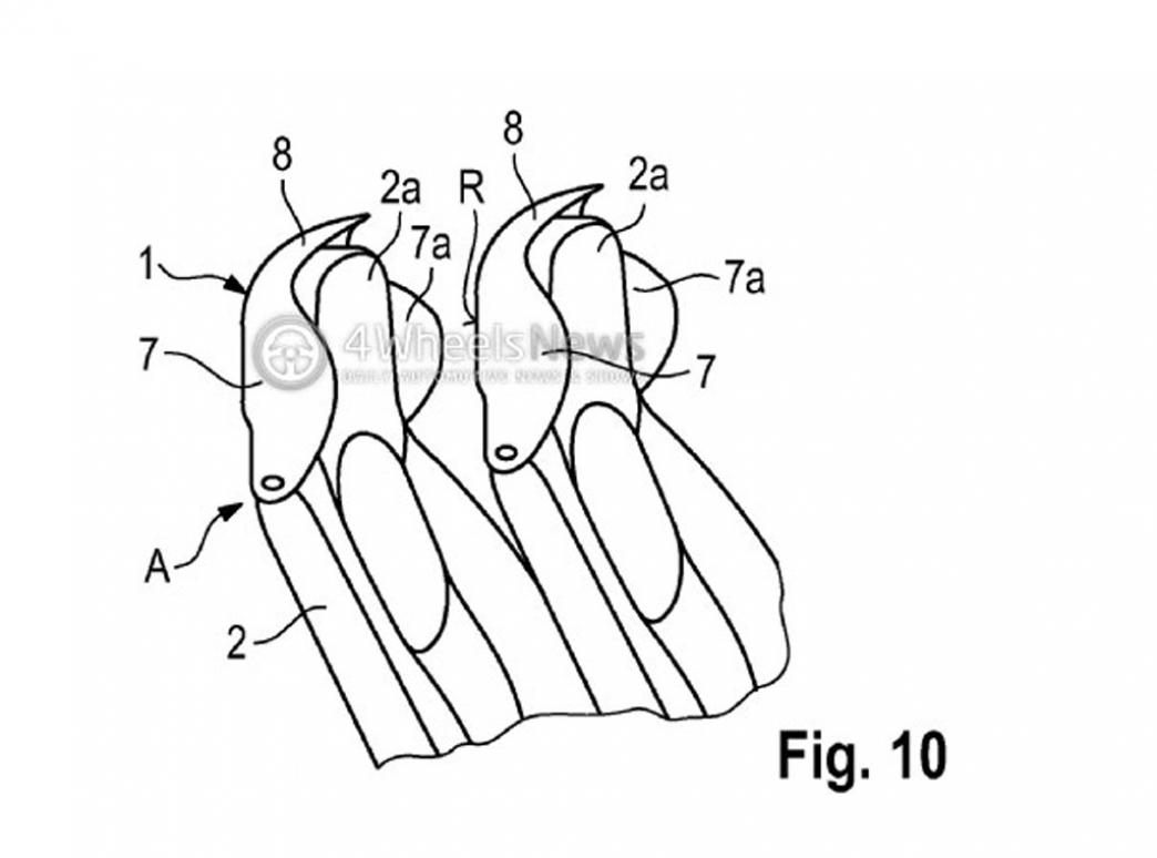 Porsche patenta un nuevo tipo de deflector para sus descapotables