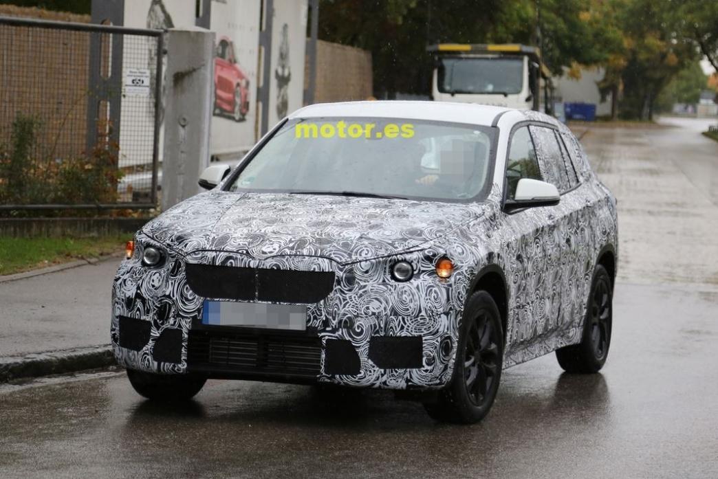 BMW X1 2015, cazado de nuevo ¿con tracción delantera?