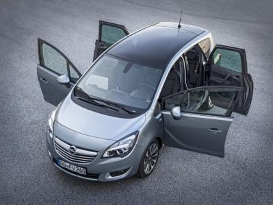 El Opel Meriva se pone al día