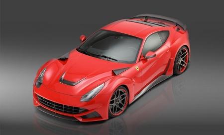 Novitec Rosso F12 N-LARGO, más potencia y agresividad para el Ferrari F12