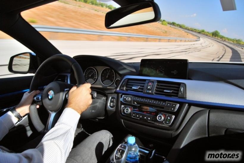 Prueba: BMW Serie 4 Coupé, presentación (III): apartado dinámico