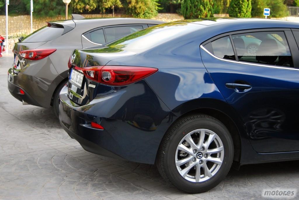 Mazda 3 Sportsedan >> Prueba: Mazda3 2014, presentación (I): introducción, gama y diseño exterior - Motor.es