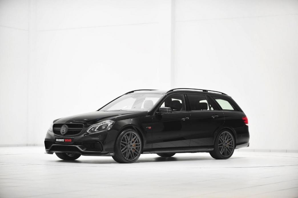 Mercedes E63 AMG, convertido en una bestia con 850 CV gracias a Brabus