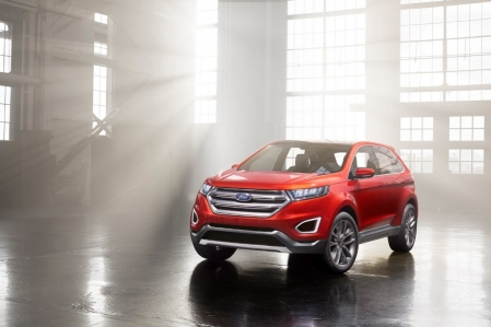 Ford Edge Concept, adelanto de un nuevo SUV global