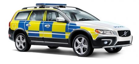 Volvo XC70 D5 AWD, el favorito de la policía sueca