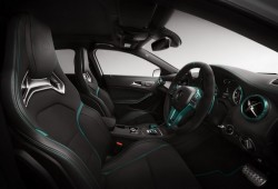 Mercedes A45 AMG Petronas Green Edition