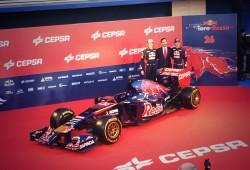 Presentación del nuevo Toro Rosso F1 2014, el STR9
