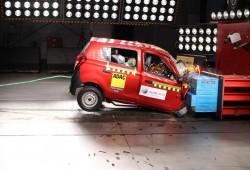Los coches indios suspenden las pruebas de choque