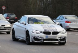 BMW M4 Cabrio 2014, nuevas imágenes casi al desnudo