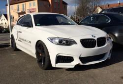 ¿No te gusta el frontal del BMW Serie 1? Cámbialo por el del BMW Serie 2 Coupé