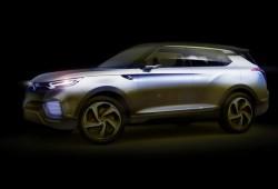 SsangYong presenta su híbrido XLV Concept en Ginebra