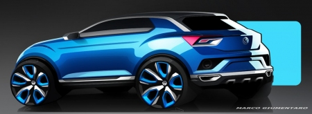 Volkswagen T-ROC, anticipando el futuro SUV compacto de la marca alemana