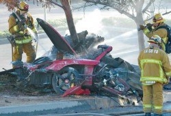 Concluye la investigación del accidente de Paul Walker