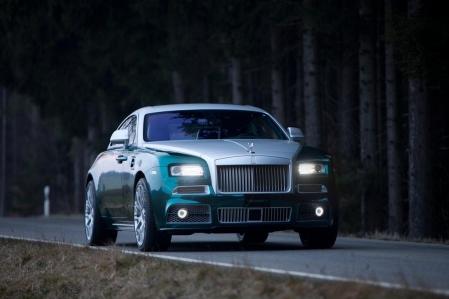 Mansory lleva al Rolls Royce Wraith hasta los 740 CV