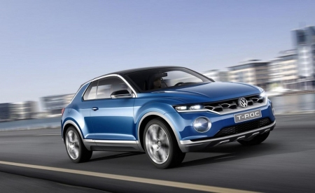 Volkswagen T-ROC concept, un Crossover descapotable