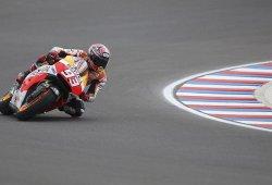 Marc Márquez, Tito Rabat (Moto2) y Jack Miller (Moto3) salen desde la pole en Termas de Río Hondo