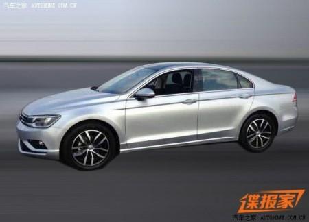 Este es el Volkswagen NMC de producción para China