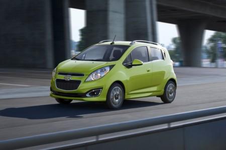 México - Marzo 2014: El Chevrolet Spark acecha el podio