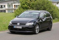 Volkswagen Golf R Variant, de nuevo fotografiado en Nürburgring