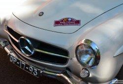 Los clásicos de Mercedes y Porsche toman el centro de Madrid