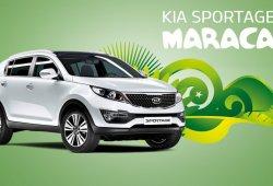 Kia Sportage Maracaná, el SUV también con el Mundial de Fútbol