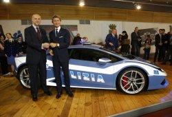 La Policia italiana recibe un Lamborghini Huracán