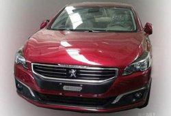Se filtra el restyling del Peugeot 508