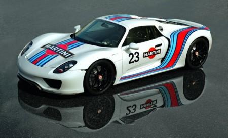 Ibrahimovic y su nuevo Porsche 918 Spyder