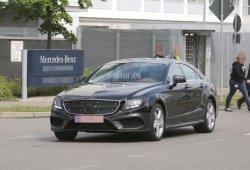 Mercedes CLS 2015 al desnudo, con pequeños cambios en exterior e interior