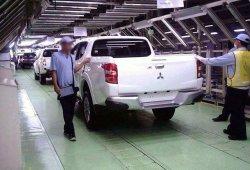 Se filtra el nuevo Mitsubishi L200
