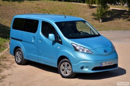 Nissan e-NV200, presentación (III): Diseño exterior e interior y capacidad de carga