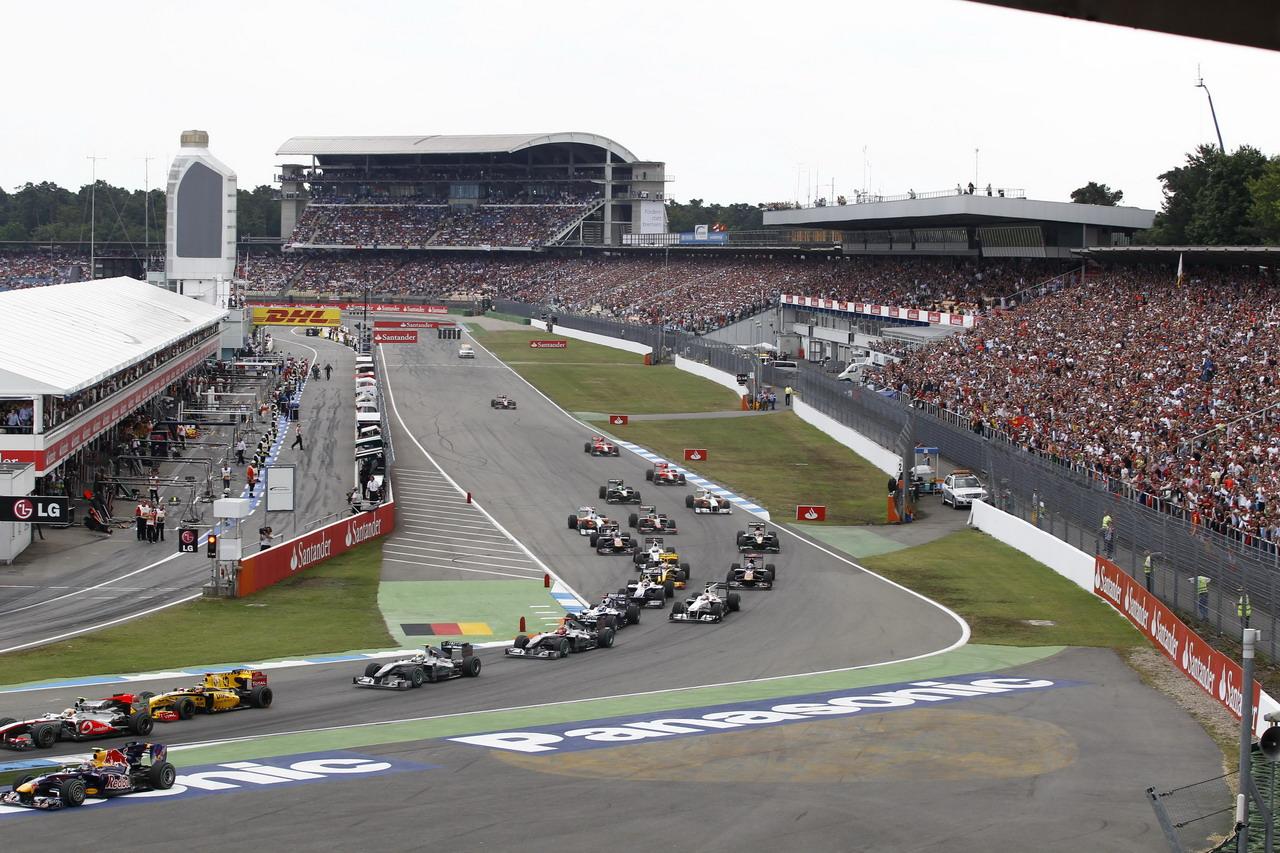 Resultado de imagen de Gran Premio de Fórmula 1 Alemania Hockenheim