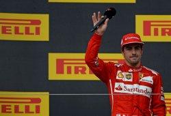 Alonso y Raikkonen rebajan la euforia en Ferrari