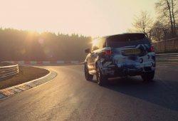 El Range Rover Sport SVR es el más rápido en Nürburgring