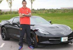 Ángel Di María llega al Manchester United con un Corvette