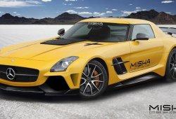 Mercedes-Benz SLS AMG pasa por las manos de Misha Designs