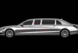 Mercedes Clase S Pullman, filtradas las patentes