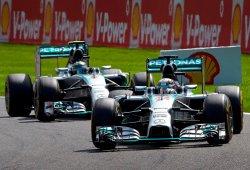 Spa reabre la guerra entre Hamilton y Rosberg en Mercedes
