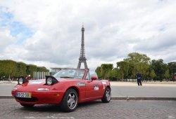 Un Mazda MX-5 recorre 25 ciudades europeas en 250 horas