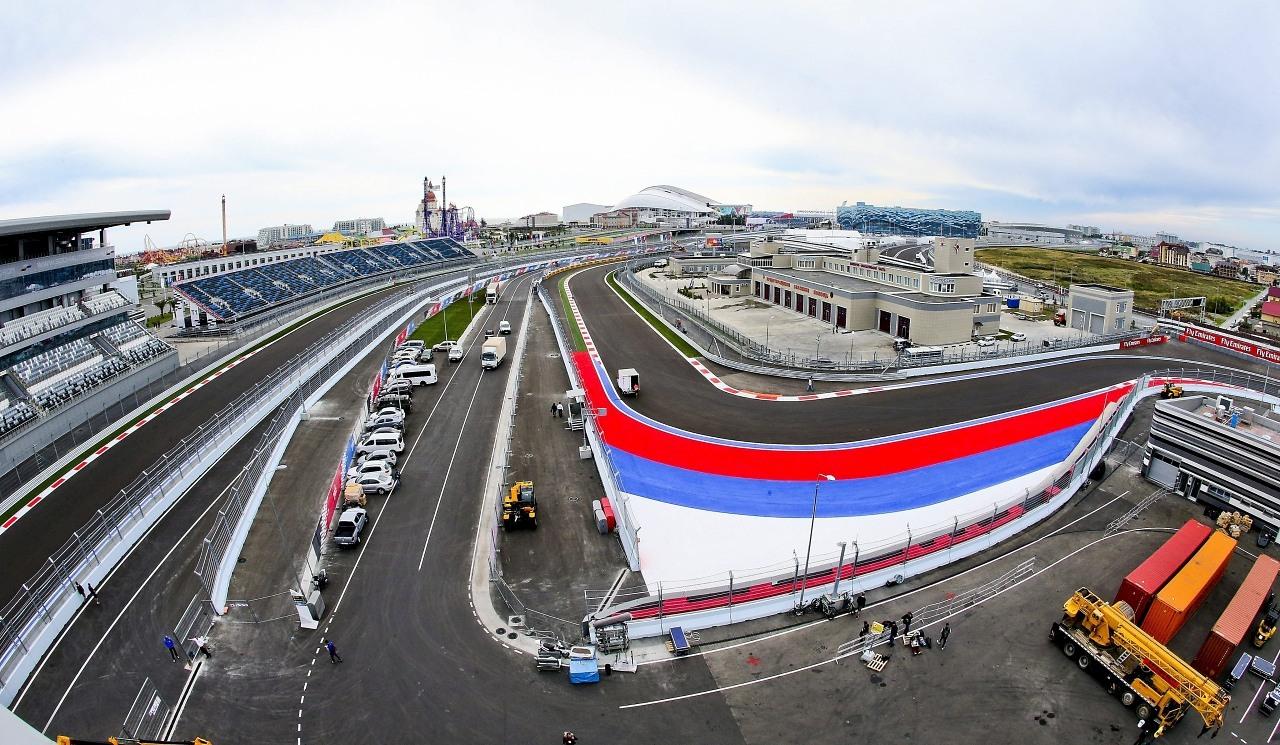 Circuito Valencia F1 : Agenda horarios del gp de rusia f y datos del circuito de